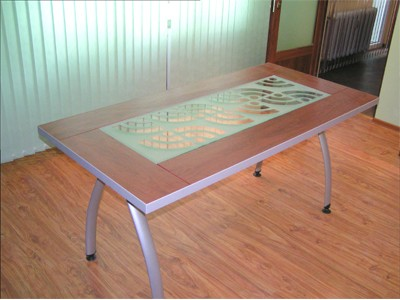 Stained glass Tables.